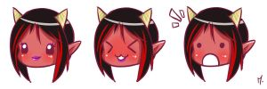 Keerlyna - Chibi test by Marrazan