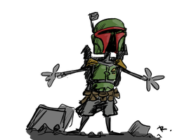 Boba Fett, 5 by Ayej