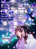 SWD: Ninja Love - Sakura Event Nobunaga by AngelERenoir