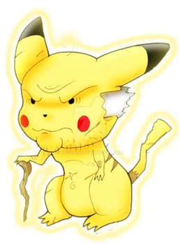 pikachu viejo by NecroCC