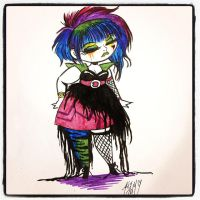 Studio Killers meets the Misfits by lunajile