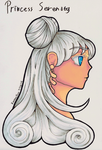 Princess Serenity by KazenoShun