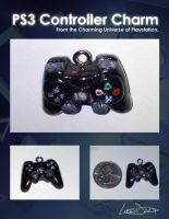 PS3 Controller Charm by Acrylix91