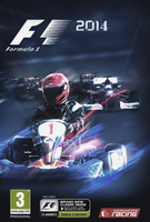 Formula 1 2014 game poster. by Rzr316