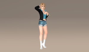 Marie Rose Casual Battle Finalize by bstylez