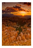 Bryce Canyon Sunrise by collectiveone