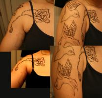 Sleeve lay out by WarriorofWolvensoul