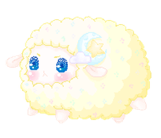 Gilbert the Dream Sheep by CottonCandyTokki