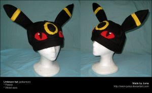 Umbreon hat 3 by Neon-Juma