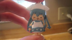 Clay Squid Girl by thepunkpalace