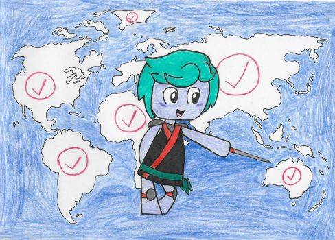Carrison and the Nations of the World by ENDORE050