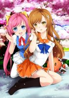 Suenaga Sisters - Worldwide Otaku Report by Ninamo-chan