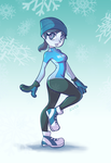 Wii Fit Trainer Winter - Happy Holidays by Xuco