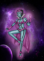 Star Sapphire- Penina by SquirrelKitty76