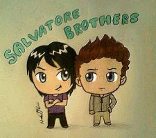 Lil Salvatores by inuyashagirl82