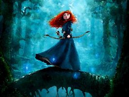 Merida by JustElaine