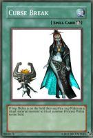 Curse Break Yugioh Card by Dbgtinfinite