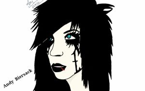 Andy biersack!  by WhiteWolf22134