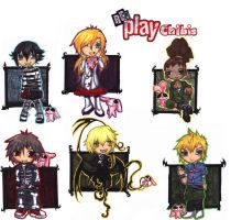 Re Play chibis by trigonsson