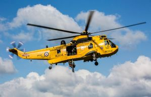 Royal Air Force Sea King HAR3A by GeneralTate