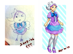then and now feat. magical girl thingy by IDK-kun