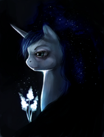 Princess Luna by ElkaArt