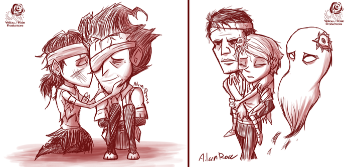 DST: Survivor Sketches by Aileen-Rose
