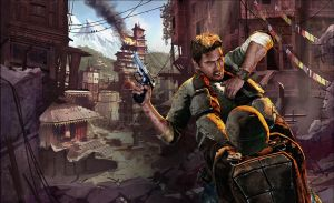 uncharted 2 by Damrick