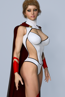 Power Girl 2 by hitmanwa