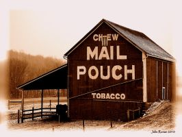 Mail Pouch Barn 1 by jmarie1210