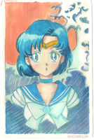 Sailor Mercury by kimikiti