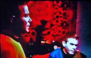 Psychedelic Sixties: Kirk and Korby of Star Trek by MystMoonstruck