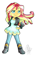 Sunset Shimmer by Pillonchou