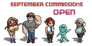 September Commissions OPEN! (Read info) by MoxyDoxy