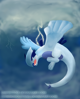 Lugia of the Tempest by empire539