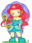 Ariel as The Bard by maricasimiro