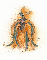Deoxys by LukeFielding