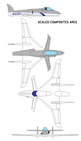 Scaled Composites ARES by bagera3005