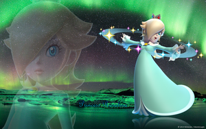 Princess Rosalina - Wallpaper by AtomicLugia