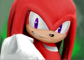 Knuckles the Echidna by KandT
