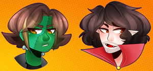 Ghoul Grumps by SakuraDraws