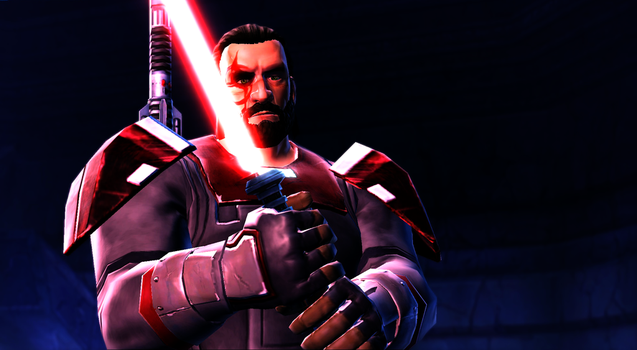 Star Wars The Old Republic - Obtaining Lightsaber by DrBrainBasher