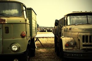 old trucks by stan2400