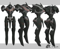 Mech Concept 01 WIP 05 by Seig-Verdelet