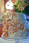 Golden and Silver Tree Cake by SnowBerenika