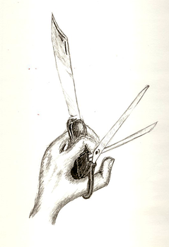 swiss army knife hand by SeoxyS