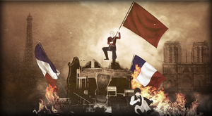 Blood will water the meadows of France by redRevolutionnaire