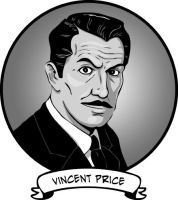 Vincent Price - Pog by b-maze