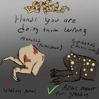 Donsaur: Hands you're doing them wrong by Spikeheila