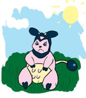 Angry Miltank by Wuddupz